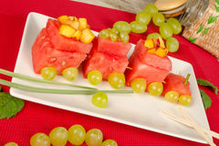 Watermelon dessert Royalty Free Stock Photo