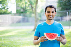 Watermelon diet Royalty Free Stock Images