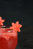 Watermelon drink closeup Stock Image
