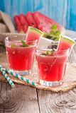 Watermelon drink in glasses Stock Photography