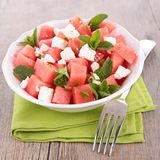 Watermelon and feta Royalty Free Stock Photography