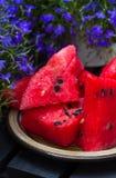 Watermelon. Fresh slices of watermelon Stock Photo