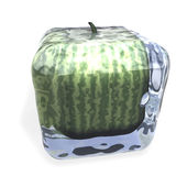 Watermelon frozen Cube Royalty Free Stock Photo