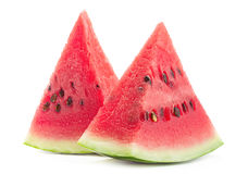 Watermelon fruit slice Stock Photos