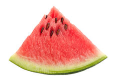 Watermelon fruit triangle slice Stock Photography