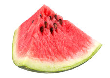 Watermelon fruit triangle slice Royalty Free Stock Images
