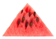 Watermelon fruit triangle slice Stock Image