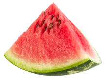 Watermelon fruit triangle slice Royalty Free Stock Photography
