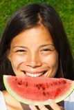 Watermelon girl Royalty Free Stock Images