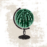 Watermelon_globe 库存图片