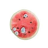 watermelon go mouldy Stock Photo
