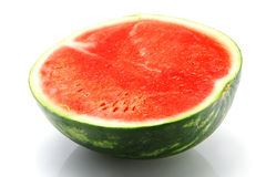 Watermelon half Stock Images