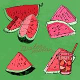 Watermelon 06 A Royalty Free Stock Photos