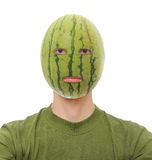 Watermelon Head Royalty Free Stock Images