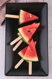 Watermelon ice cream Stock Photo