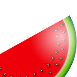 Watermelon Icon Vector Illustration Royalty Free Stock Photo