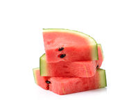 Watermelon islice solated on white background Royalty Free Stock Photography