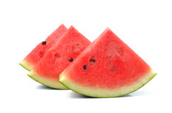 Watermelon islice solated on white background Royalty Free Stock Images