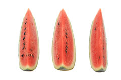 Watermelon isolate on white background.  Stock Photos