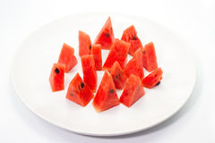 Watermelon isolate on white background.  Stock Images