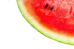 Watermelon isolate on white Stock Photo