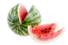 Watermelon isolated Stock Images