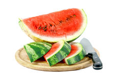 Watermelon isolated Stock Photos