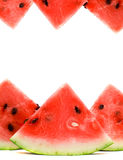 Watermelon isolated on white Stock Images