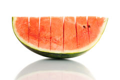 Watermelon (isolated on white background) Royalty Free Stock Photography