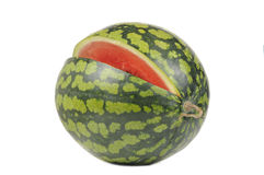 Watermelon Isolated on White Background Royalty Free Stock Image