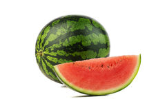 Watermelon isolated on white Royalty Free Stock Photo