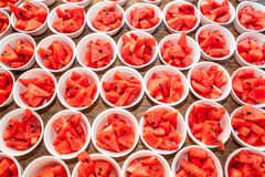 Watermelon in isomobox Royalty Free Stock Image