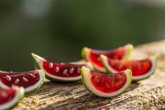 Watermelon jelly Royalty Free Stock Photo