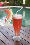 Watermelon juice Stock Image