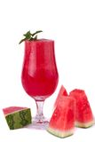 Watermelon juice Stock Photo