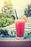 Watermelon juice Stock Photography
