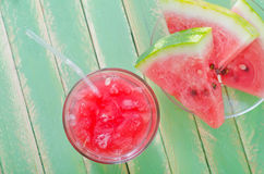 Watermelon juice Stock Photos