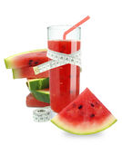 Watermelon juice royalty free stock photography
