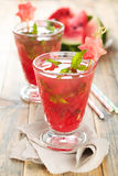 Watermelon juice. Royalty Free Stock Image