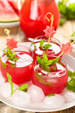 Watermelon juice. Royalty Free Stock Photos