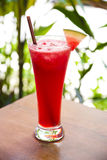 Watermelon juice cocktail in asia Stock Image