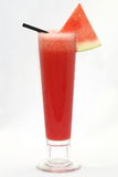 Watermelon Juice. Red Watermelon Juice with watermelon piece Royalty Free Stock Photos