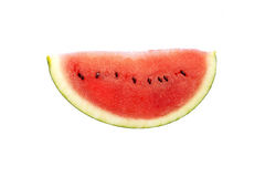 Watermelon. Juicy watermelon isolated on white Stock Photography