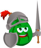Watermelon knight Royalty Free Stock Photo