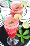 Watermelon lemonade Royalty Free Stock Image