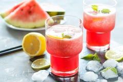Watermelon lemonade Royalty Free Stock Photos