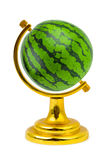 Watermelon like a globe Royalty Free Stock Image