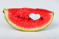 Watermelon love Royalty Free Stock Image