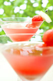 Watermelon Martini Royalty Free Stock Photo