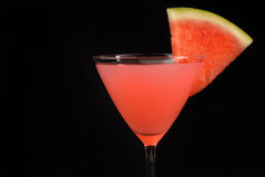 Watermelon martini Royalty Free Stock Photos